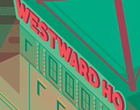 Westward Ho Illustration