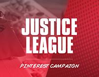 DC Comics: Justice League / Target Pinterest Campaign