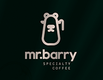 mr. barry . visual identity