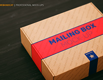Shipping | Mailing Box Mock-up