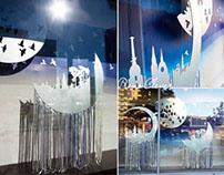 "Christmas Window Display for ""GERRY WEBER"" Brand"