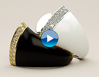 """Grisogono""Black bell ring animation."