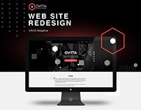 Ovitta Landing — Web site redesign