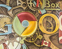 Google Products Mural
