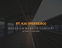 Indonesian Railways Co. (PT. KAI) Website Redesign