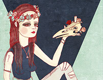 Elba Ulvintage Illustration by Sirena
