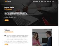 Full responsive PSD to html design