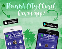 Flourish City Church Website & Graphics
