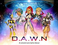 DAWN Animated Comic Project