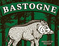 Bastogne - La Troufette // Brand Identity + Packaging