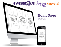 "Babies""R""Us Happy Travels"
