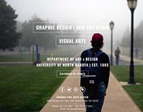 UND Art & Design Website