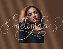 Melonida    Lovely Script Font