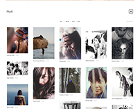 Nuuk - A Modern Photography Theme