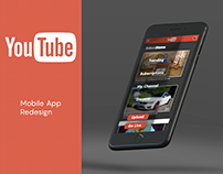 YouTube Mobile App Redesign