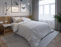 Scandinavian apartment in Sochi.