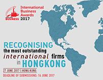 HKB and SBR International Business Awards 2017