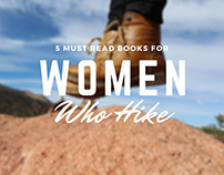 5 Must Read Books for Women Who Hike