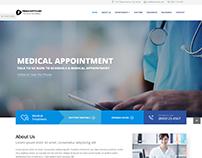 Medical Website - Pebble Softwares