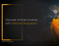 National Geographic Banner Design with Photoshop