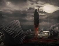 Aliens land visualizing