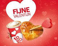 Albert Heijn to go - Valentijn 2016