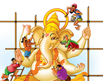 Making of Ganesha project
