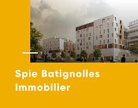 Spie Batignolles Immobilier • UI Design