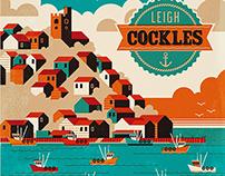 Leigh-on-Sea - Leigh Cockles Poster