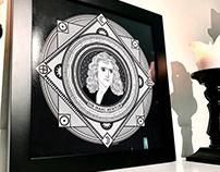 Isaac Newton Art Print | ThinkArtPrint