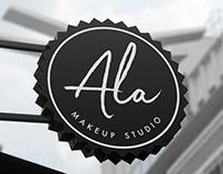Ala Makeup Studio Branding