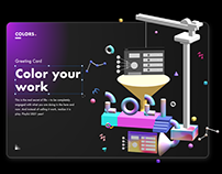 Color your work