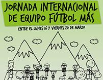 Piezas Gráficas Fútbol Más // Gráfica, Redes Sociales.