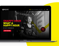 Snap Lasertag - Branding, UI/UX Design & Web Dev.