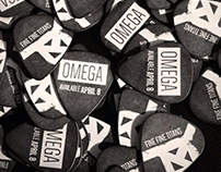 "Fine Fine Titans ""Omega"" Guitar Picks"