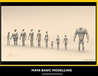 Basic Maya Modelling by Rahul !!!