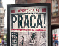 Plakat Breitenbach - Praca