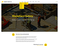Construct Website Template