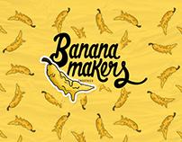 Banana Makers : Logo & brand identity