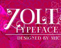 New release: Zoltana typeface