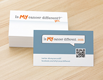 Is My Cancer Different Business Cards