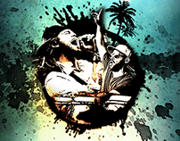 Flyer for band members from SOJA