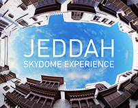 Jeddah heritage / dome projection 360