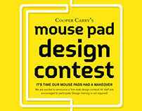 Mouse Pad Design Contest Poster