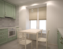 Интерьер двухкомнатной квартиры в Зеленограде