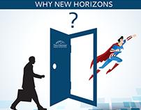 New Horizons Social Content & Banner Graphics