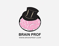 BRAIN PROF – LOGO DESIGN