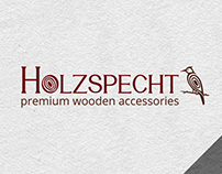 Holzspecht Logo Design