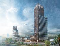FOLKART Archviz for a residential complex project