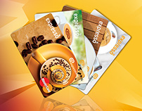 Expresso cards design for Expressbank